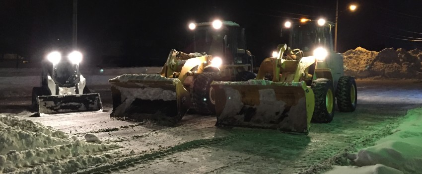 Commercial Snow Plowing in Western NY
