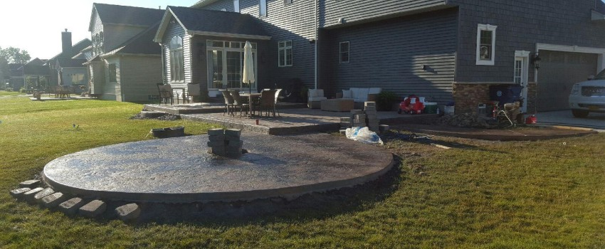 Custom Patios, Porches and Steps